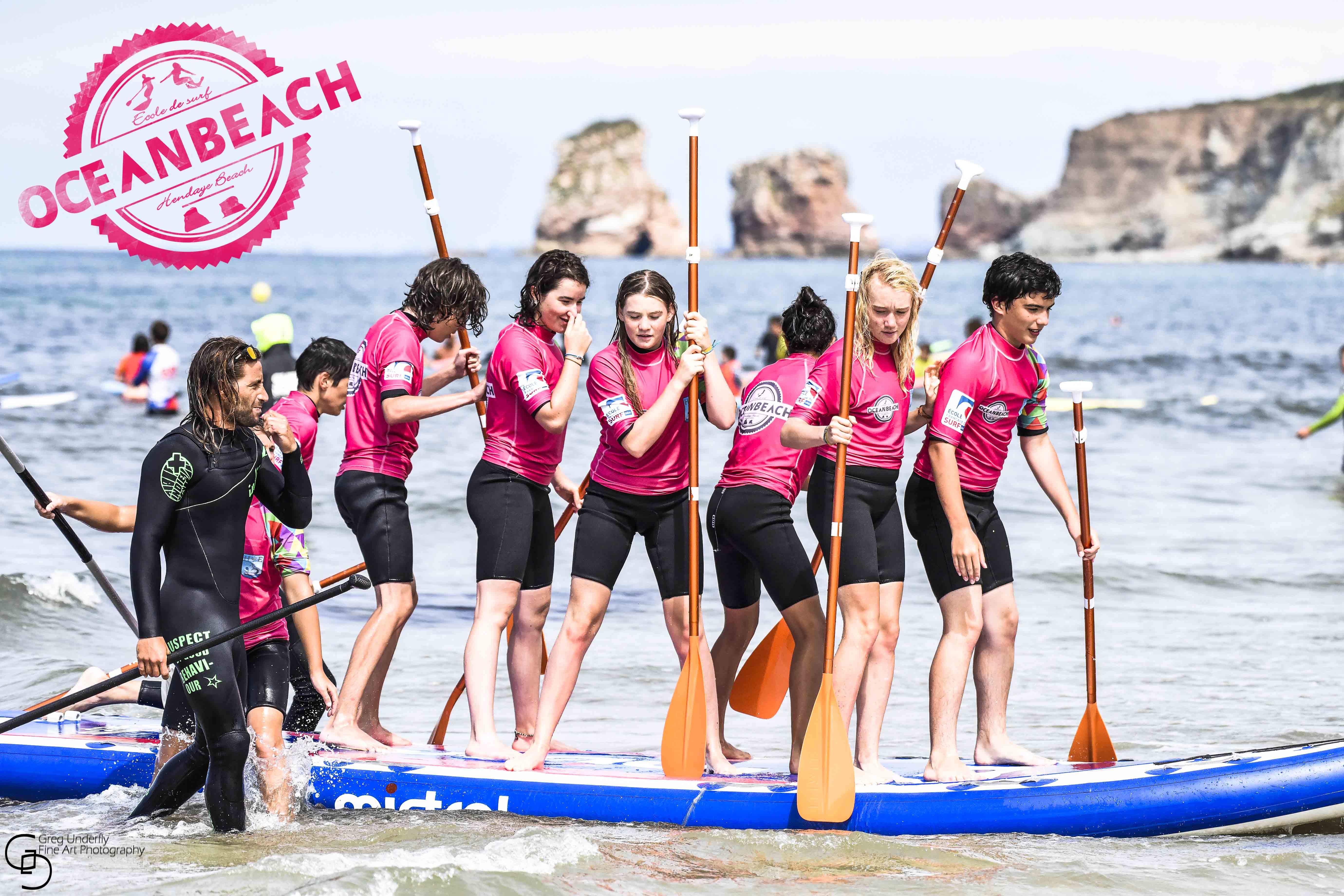 école de surf hendaye côte basque pays basque hendaia cours de surf France classe surf Hendaye