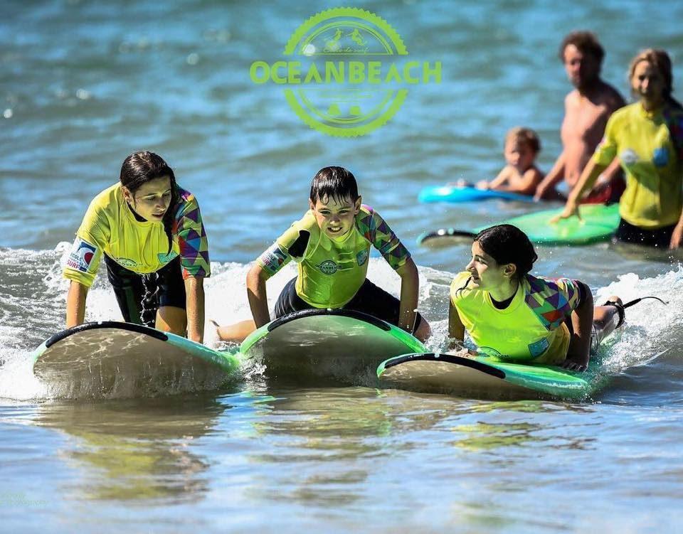 cours de surf France classe surf Hendaye